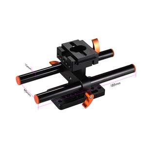 Image 3 - Andoer Camera Cage +Top Handle +15mm Rod Baseplate Kit Video Movie Making Stabilizer for Sony A7III/SII/M3/A7RII Camera