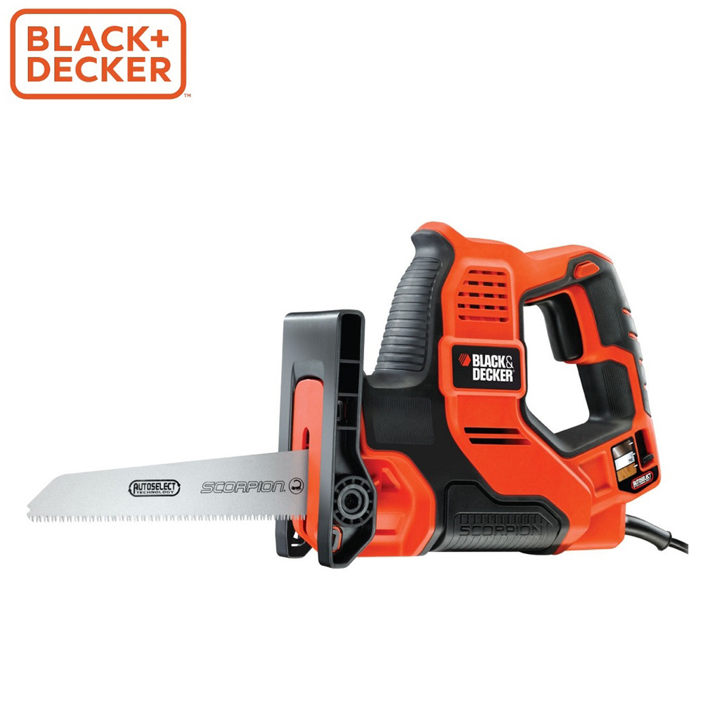 Electric Saw Black+Decker RS890K power tool jigsaw electric Allen Wrench Reciprocating Saw Tools File garden saw tool scarlett sc 55i