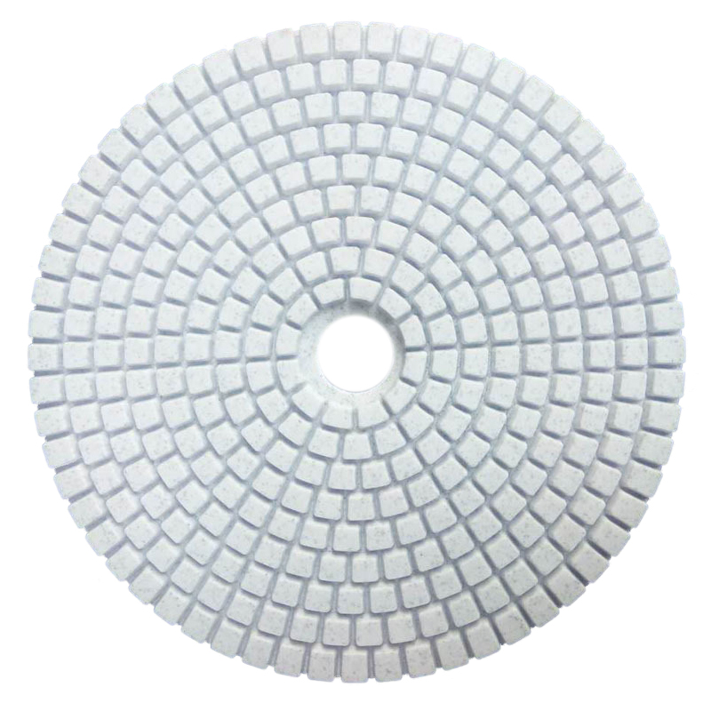 HLZS-5 Inch 125mm Wet Diamond Polishing Pads Marble Granite Grits