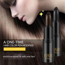 BIOAQUA краска для волос мгновенное покрытие серого корня краска для волос Модифицированная крем-палочка Временная покрывающая белая краска для волос TSLM1