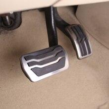 Автомобильные педали из нержавеющей стали для Ford Focus 2 3 4 MK2 MK3 MK4 RS ST 2005- Kuga Escape 2009