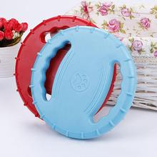 Dog Flying Disc Bite Resistant Outdoor Training Fetch Sound Maker Float Pet Trainning Puppy Toy Rubber
