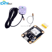 купить 6M GPS Module EEPROM Navigation GPS Ceramic Antenna for Arduino STM32  Aircraft APM2.5 Flight Control онлайн
