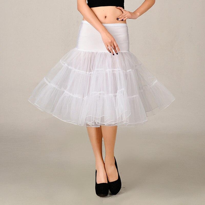 Hot sale short tutu petticoat women underskirt Halloween knee short wedding skirt petticoat puffy tulle evening party tutu