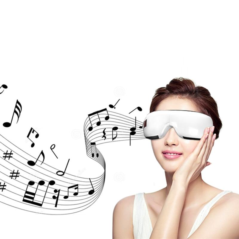 Smart Bluetooth Music Eye Care Eye Massager Air Pressure Hot Compress Dark Circles Remove Magnetic Far-infrared Protect Eyesigh
