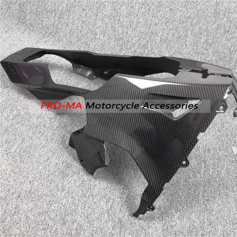 2017-2018 Honda CBR1000RR Carbon Fiber Chain Guard Cover Fairing Twill Weave