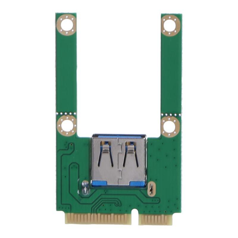Notebook Mini PCI-E To USB2.0 PCI Express Adapter Card USB 2.0 Expansion For Bluetooth