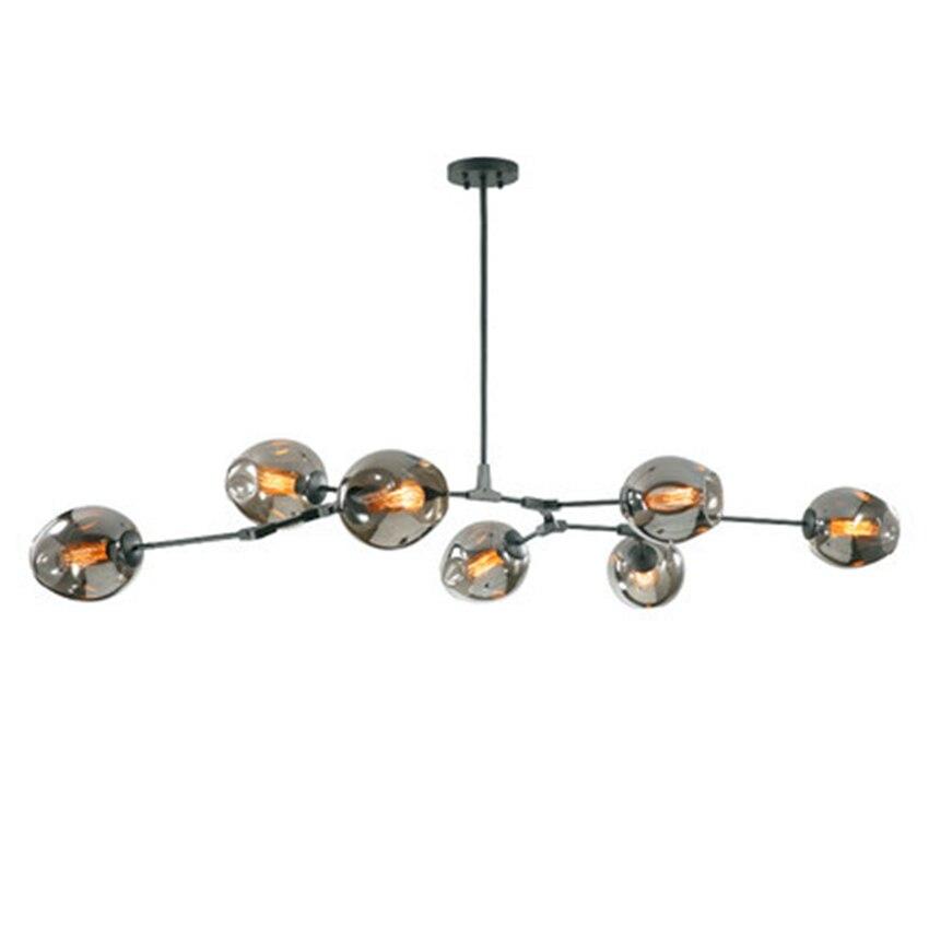 Modern Chandelier LED Pendant Lamps Light Molecular Magic Bean Branch Italian HangLamp Dining Room Kitchen Avize Lustre Lighting in Pendant Lights from Lights Lighting