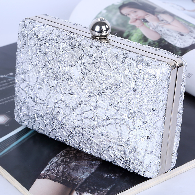 Luxury Lace Clutch evening bags Purse Mini Evening Bags women handbag Casual fashion crossbody For Wedding Party in Top Handle Bags from Luggage Bags