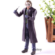 СВЧ SHFiguarts Горячая игрушка фигурка Джокер Темная ночь ПВХ Коллекция Модель игрушки 15 см