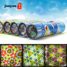 New Metal Large Rotating Kaleidoscope Magical Interior View Flower Tube Childrens Kindergarten Toys jooyoo
