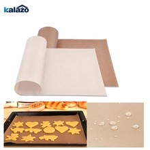 Baking Mat High Temperature Resistant Teflon Sheet Pastry Baking Oilpaper Heat-resistant Pad Non-stick For Outdoor Bbq(China)