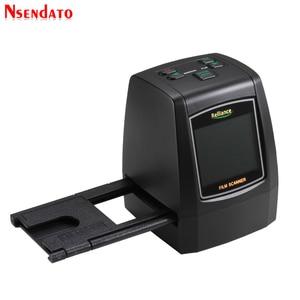 """Image 5 - 14MP/22MP High Resolution Photo Foto Film Scanner Convert 35 mm 8 mm Color 2.4"""" LCD Slide Viewer Film Digital Negative Scanner"""