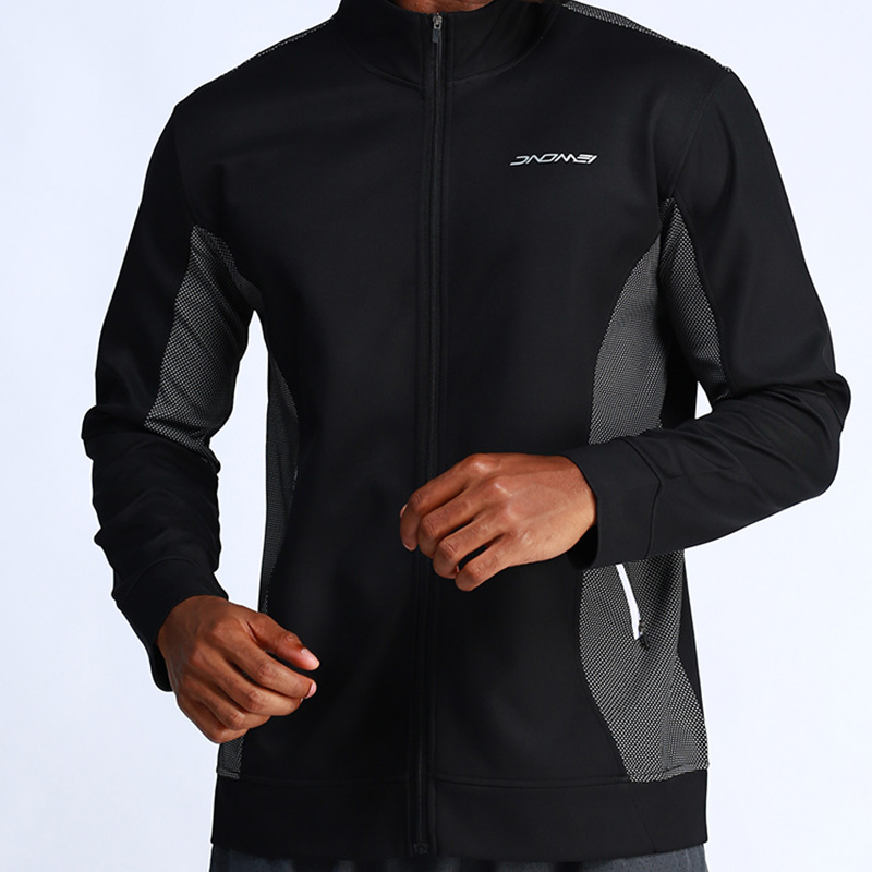 Running Sports & Entertainment Trustful Breathable Running Jackets For Men Zipper Stand Collar Quick Dry Gym Sports Fitness Jogging Hiking Coats Sportswear Male