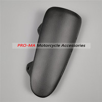 Motorcycle Exhaust Cover in 100% Carbon Fiber for Ducati Diavel 2010 2014 Plain