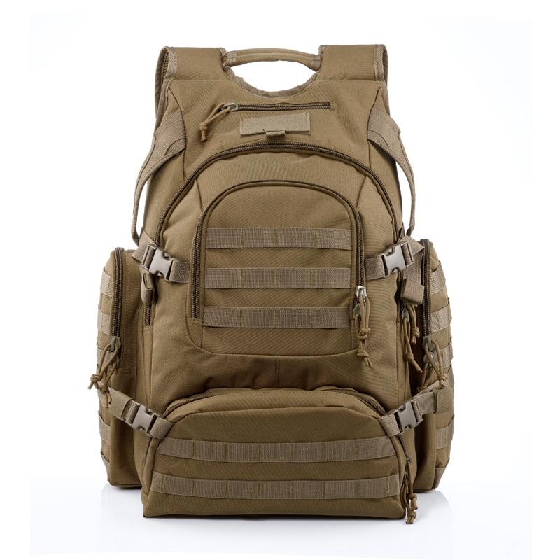 2016 жаңа YaKeda бренді ерлер мен әйелдер 55L үлкен сыйымдылығы бар ашық баскетбол Су өткізбейтін камуфляж рюкзак тауға арналған сөмке