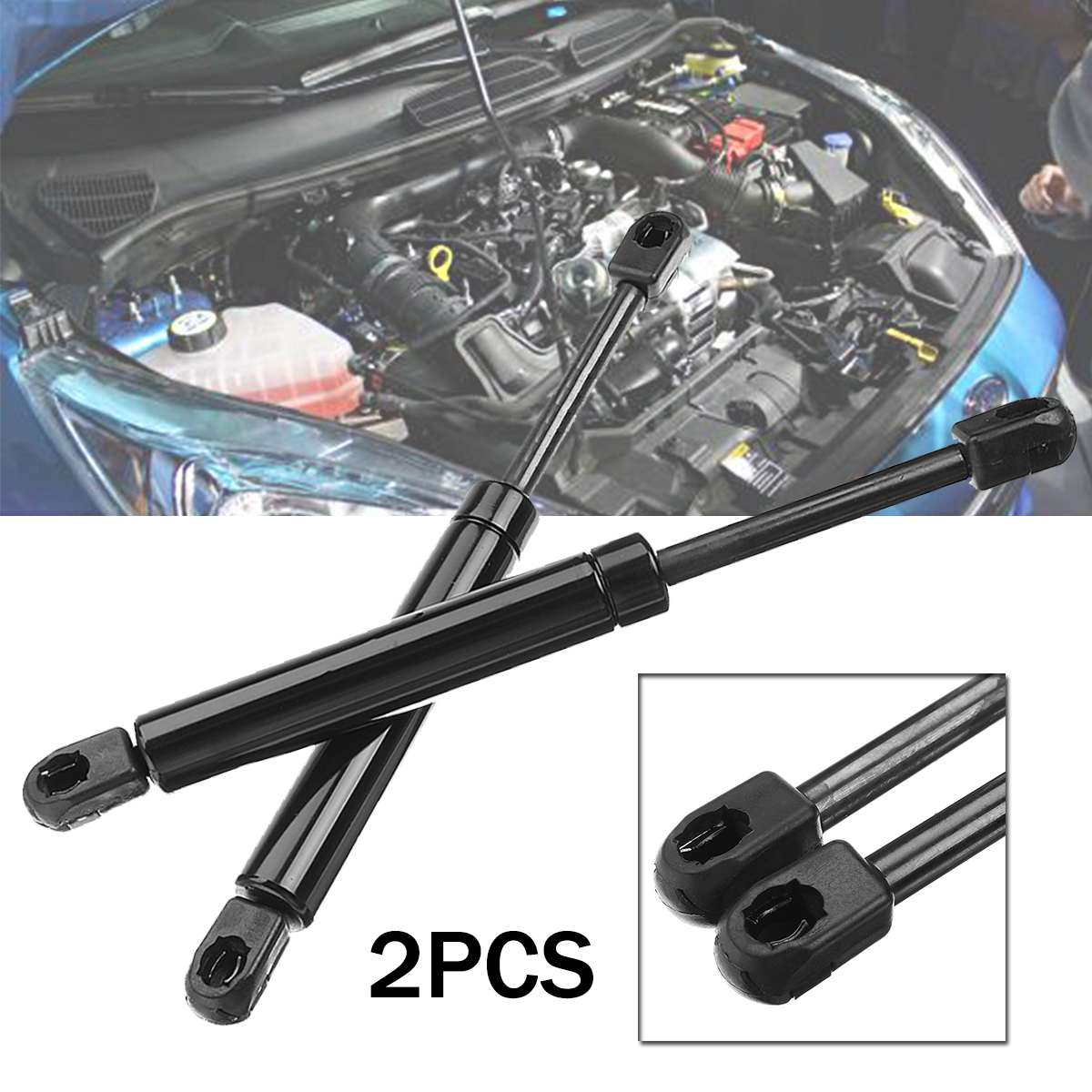 2Pcs For Ford for Mondeo MK3 2000 2001 2002 2003 2004 2005 2006 2007 Car-Styling Bonnet Gas Springs Struts Hood Shock Lifters