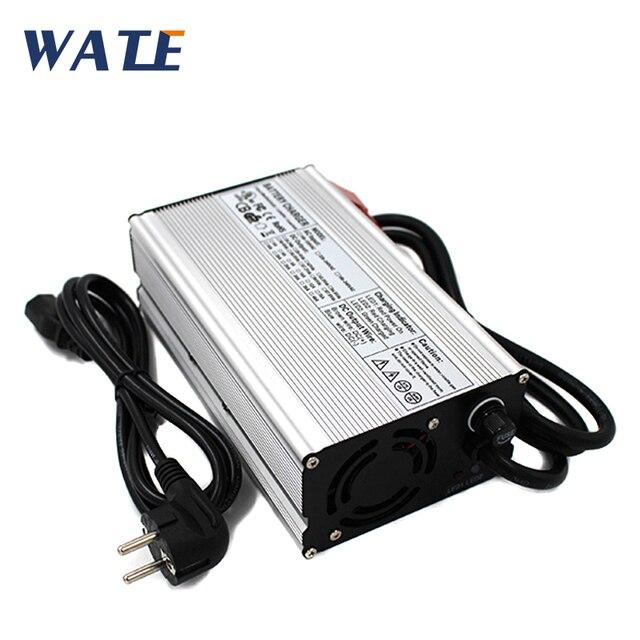 54.6 V 10A リチウム充電器 48 V 10A 充電器 110/220 V に使用 13 S 48 V 40AH 50AH 80A 100A リチウムイオンバッテリーパック