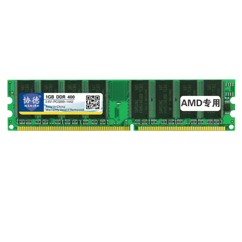 Xiede Desktop Pc Memory Ram Module Ddr 1Gb Ddr1 184Pin Dimm