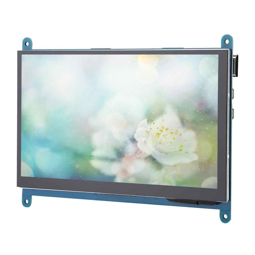 7 Inch Full View LCD IPS Touch Screen for Raspberry Pi 1024*600 HD HDMI Display Capacitive Monitor 5-Point Touch Control 2019