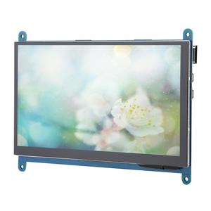 7 Inch Full View LCD IPS Touch Screen for Raspberry Pi 1024*600 HD HDMI Display Capacitive Monitor 5-Point Touch Control 2019(China)