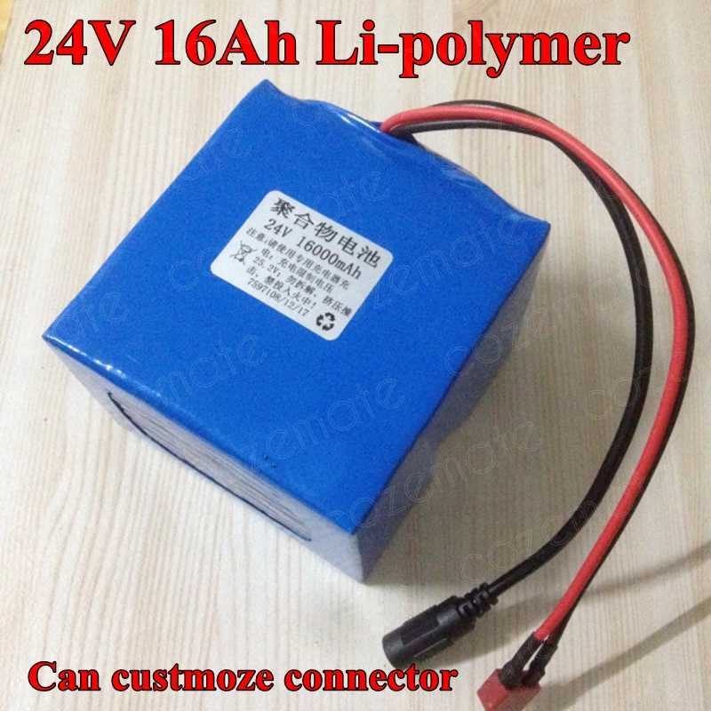 24V 16AH Li-ion Battery Volt Rechargeable Bicycle 500W E Bike Electric Charger