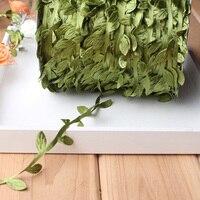1Pc Artificial Ivy Plant Wicker Vine Leaf Plants Garland Leaves Fr Home Decor Y1