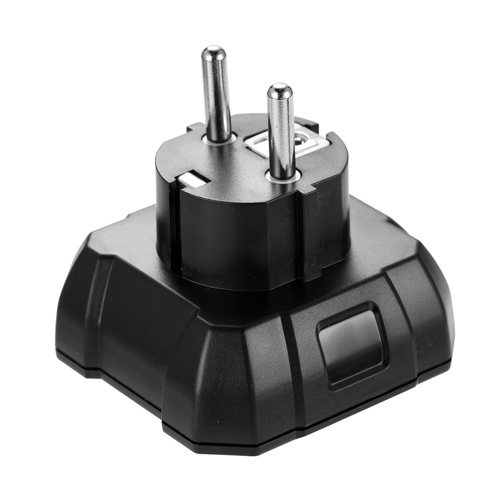 Image 5 - KKmoon KKM5 Mini Digital Socket Detector Power Socket Wiring Detection Wall Plug Breaker Finder RCD Test Socket Tester EU/UK/US-in Circuit Breaker Finders from Tools
