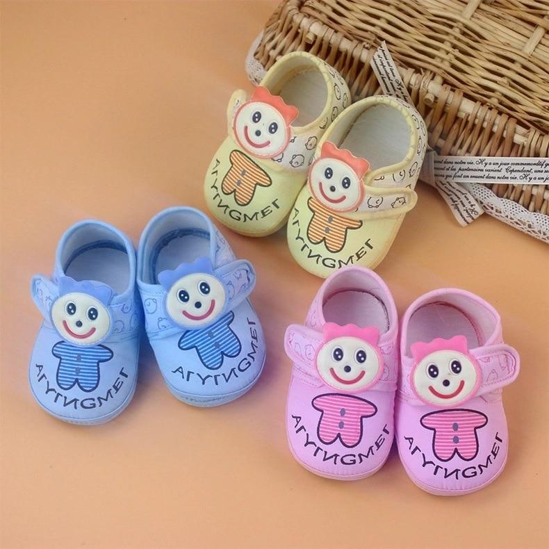 3 Цвета Дополнительно Aing красивый мультфильм ребенок исследование прогулочная обувь бычьи сухожилия Нижняя прекрасная детская обувь Bbx 5160