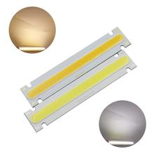 цена на allcob manufacturer LED COB Strip module Light Source Lamp 6V DC White Warm White 100x20mm 5W LED FLIP Chip Bulb for DIY lamp