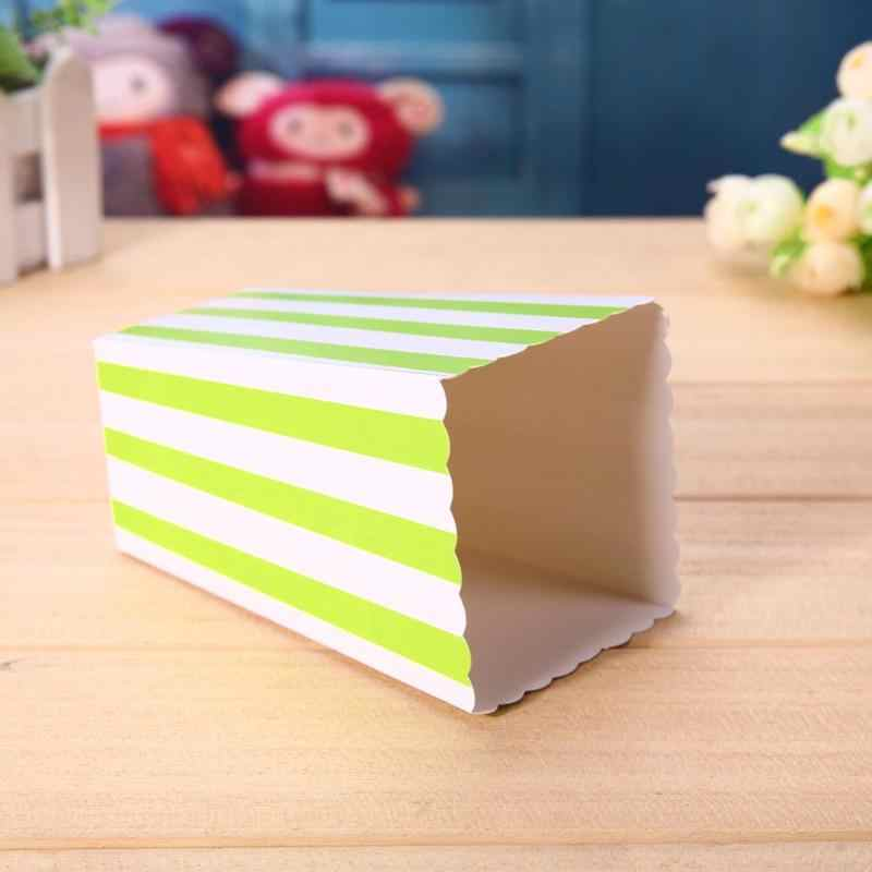 12pcs Favor Candy Treat Popcorn Boxes for Wedding Party Supply Baby Shower