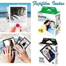 For Fujifilm Instax Square Film White/Black Edge Photo Paper SQ10 SQ6 SQ20 Instant Camera Share SP-3 Printer