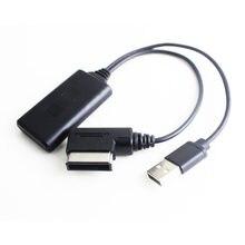 Беспроводной bluetooth адаптер usb aux кабель для audi a4 8k