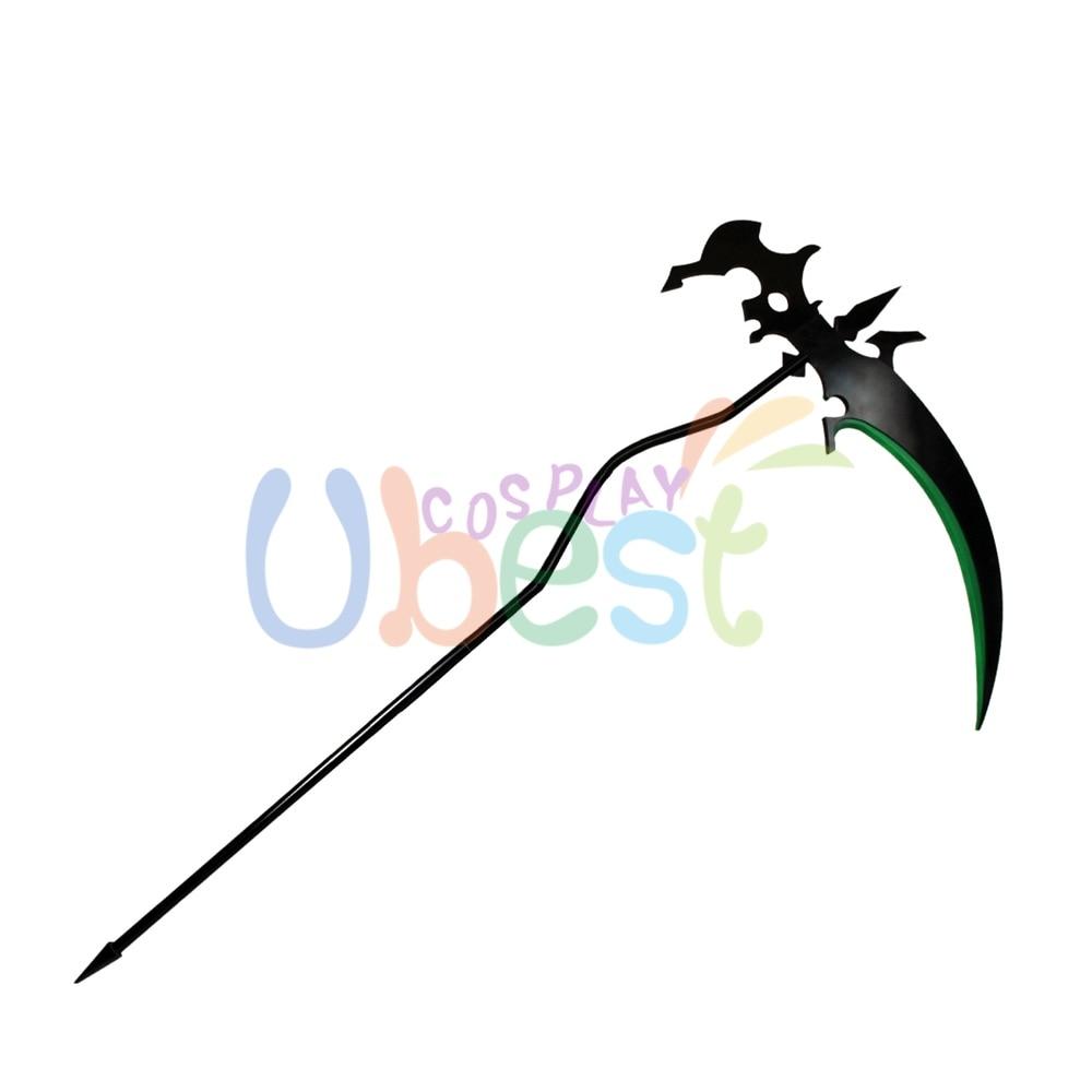 Hot Sailor Moon PVC Grim reaper Reaper/'s Scythe Prop Cosplay Accessories Custom