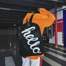 купить Canvas Backpack Bag Tide Cool Street Korean-Style Versatile Wind Vintage Honey Shoulder Bag дешево