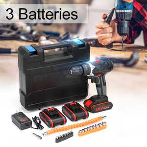 With 1/2/3Pcs Li-ion Battery 3