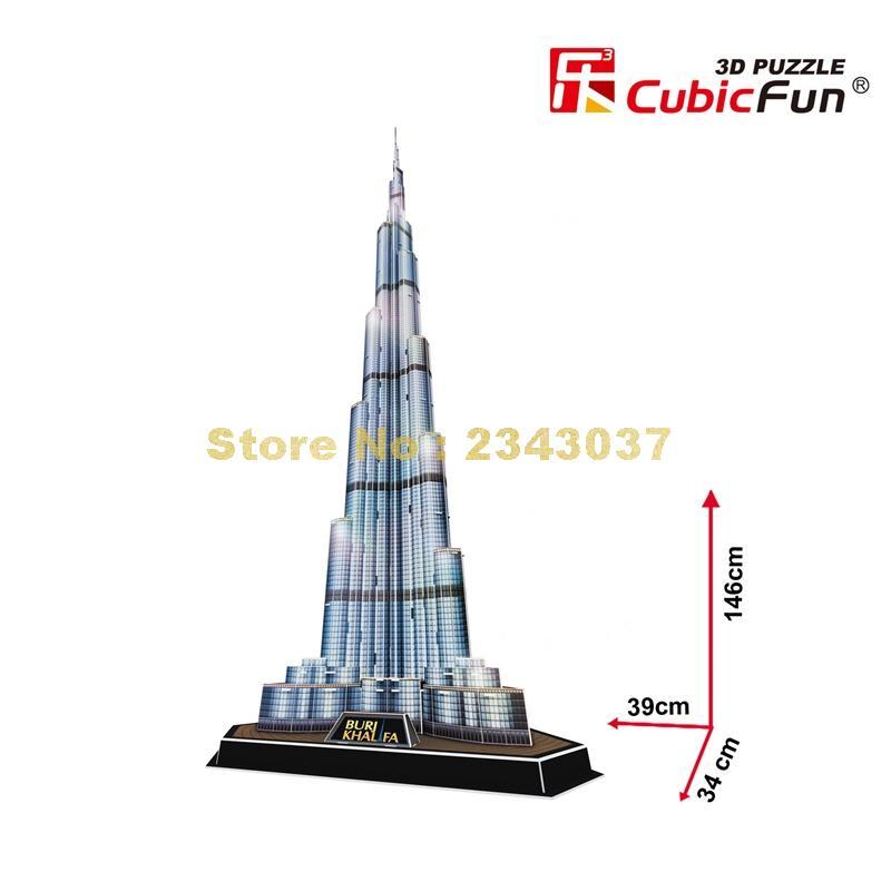 Aliexpress.com : Buy Cubicfun L133H World Famous
