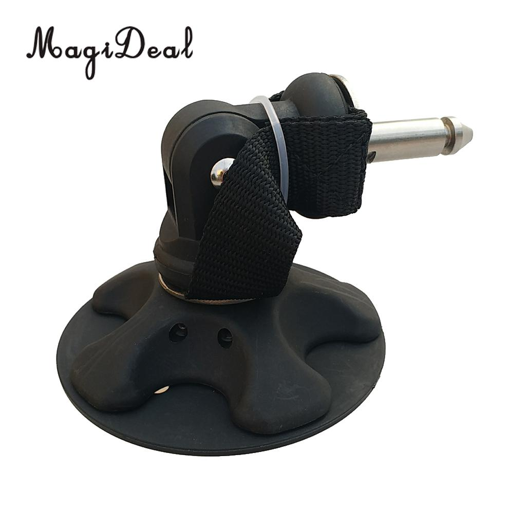 Heavy Duty Windsurfing Mast Foot Tendon Joint Baseplate with M8 Pin Fitting Hardware
