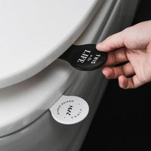 Складная крышка для сиденья унитаза, подъемная гигиеническая крышка для унитаза, подъемная ручка для путешествий, дома, ванной комнаты, 11x5 см