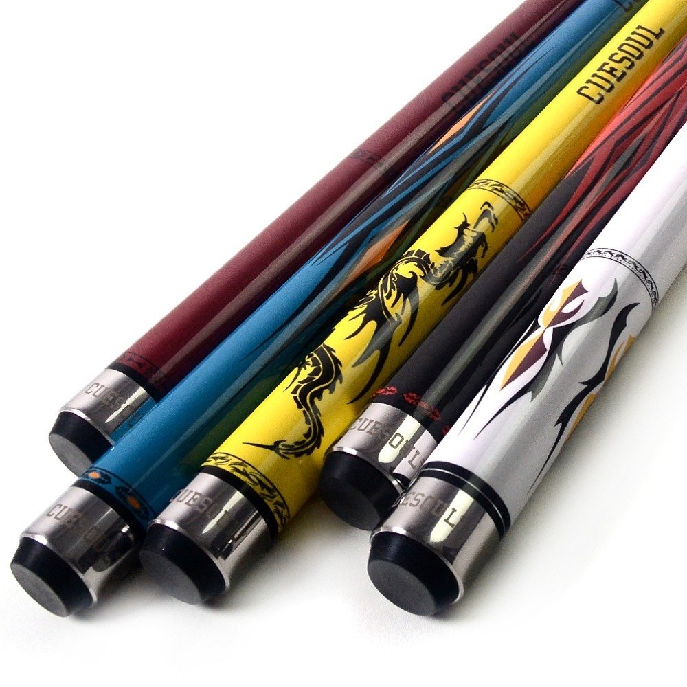 CUESOUL SOOCOO Series 58 19oz 11.5/12.75mm Tip Maple Snooker Pool Cue Stick Set With Joint/Shaft Protector And Cue Towel.CUESOUL SOOCOO Series 58 19oz 11.5/12.75mm Tip Maple Snooker Pool Cue Stick Set With Joint/Shaft Protector And Cue Towel.