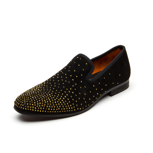 Natural Da Meijiana Homens's Calçados Moda Festa deslizamento Mocassins Dos Sapatos Couro Preto Quente Baixos 2019 Casuais Homens Perfuração Não De aqpcT7rxwa