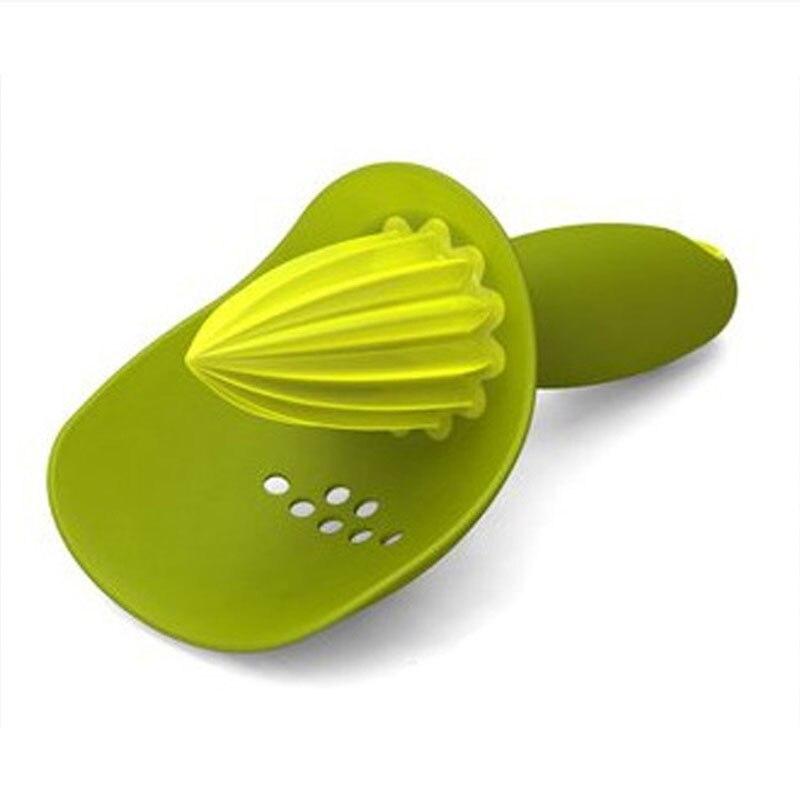 Fruit Supplies Kitchen Accessories Cooking Tool Orange Juice Maker Portable Manual Juicer 1Pcs Orange Lemon Squeezers Plastic