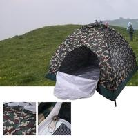 Camouflage Tent Outdoor Camping Tent Waterproof Large Family Tents Traveling Hiking Accessories Tent Camp Equipment Dropship