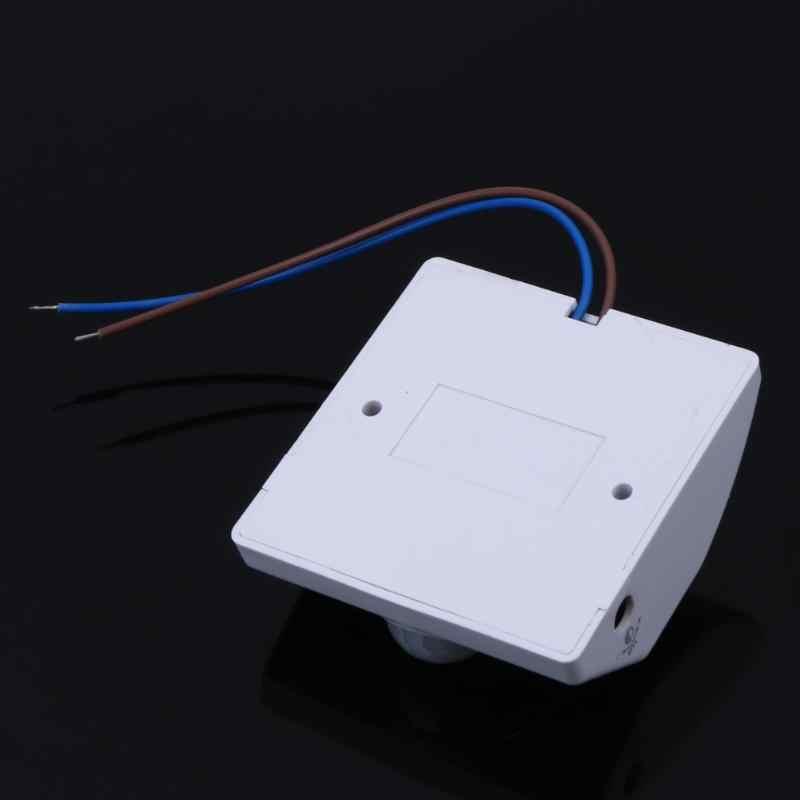 E27 AC220V capteur de mouvement de corps infrarouge support de lumière automatique Base porte-lampe de couloir réglable interrupteur de retard de lumière intelligent