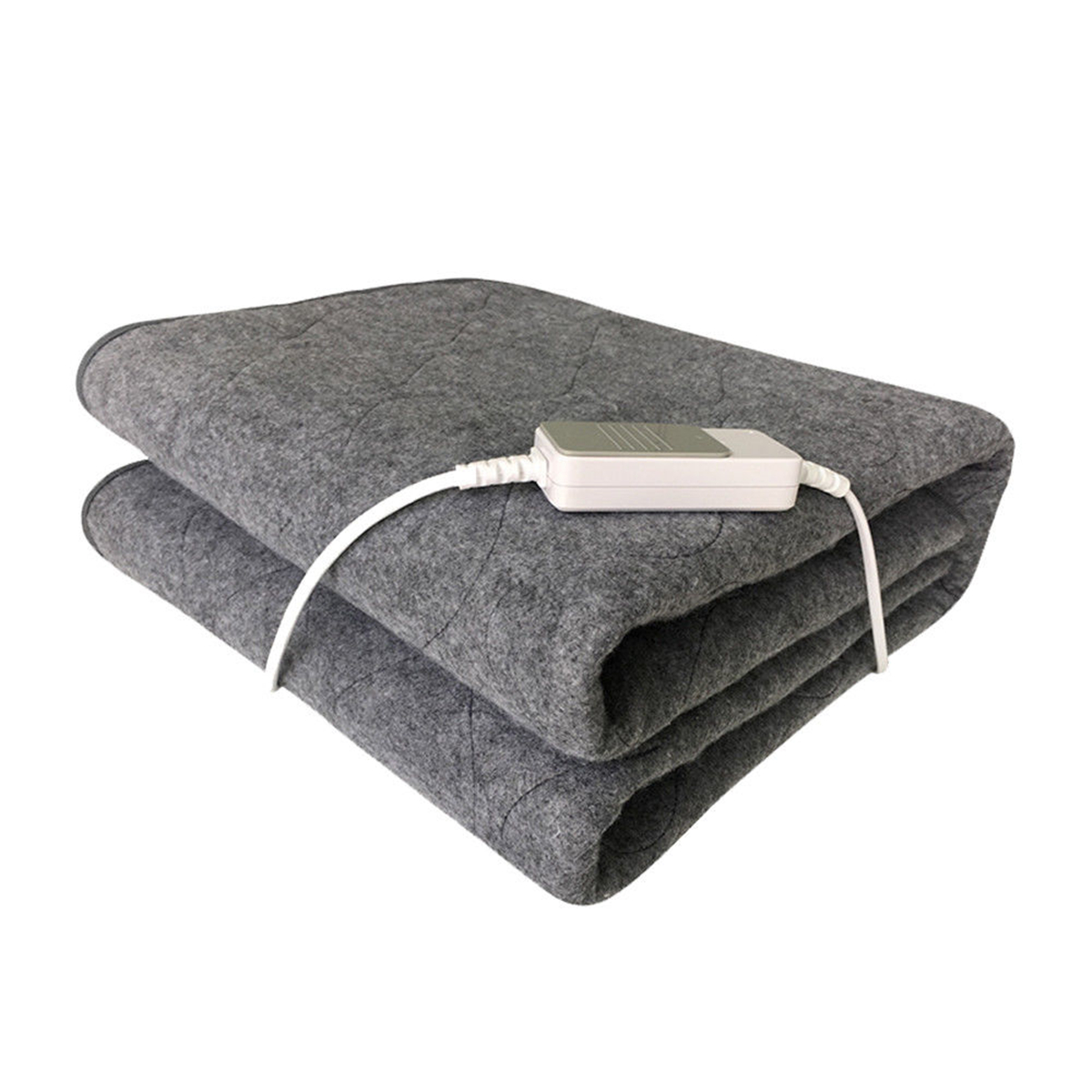 Winter Electric Blanket Warm Heating Mat Pad Throw Over Under Bed Mattress Non-Woven Fabric Blanket Adjustable 3 Colors 150*75cm
