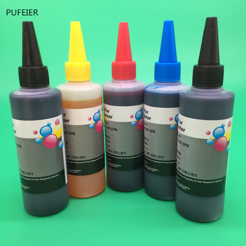 5 Bottles PGI-570 CLI-571 PGI570 CLI571 Dye Based Ink For Canon PIXMA MG5750 MG5751 MG5752 MG5753 MG6850 MG6851 MG6852 MG68535 Bottles PGI-570 CLI-571 PGI570 CLI571 Dye Based Ink For Canon PIXMA MG5750 MG5751 MG5752 MG5753 MG6850 MG6851 MG6852 MG6853