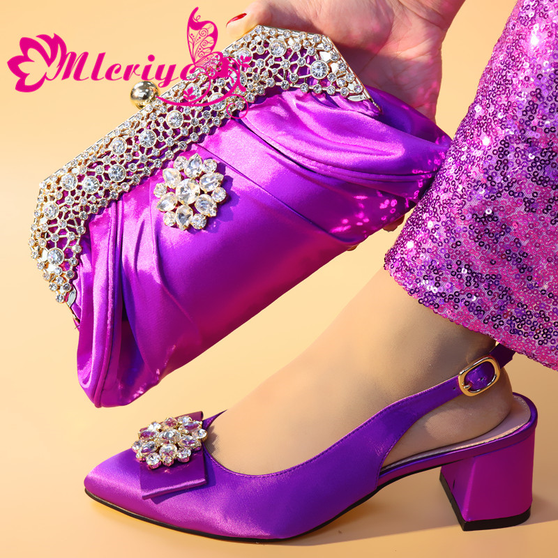 Latest Purple Shoes and Bag Sets for Women Italian Shoes and Bags To Match Shoes with Bag Set Nigerian Shoes and Bags Matching Latest Purple Shoes and Bag Sets for Women Italian Shoes and Bags To Match Shoes with Bag Set Nigerian Shoes and Bags Matching