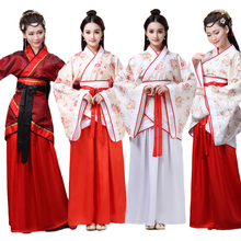 Chinese Spring Festival New Year Costumes Dresses for Woman