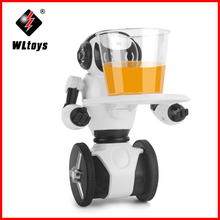 WLtoys F4 WIFI Camera Intelligent Balance RC Robot APP Control Toys for Children Kids Christmas Gift Present VS JJRC R1 R2 R3 игрушка wltoys f4