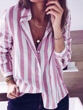 Zanzea 2019 Spring Women Blazer Elegant Striped Work Ol Blazers Suits Ladies Casual Slim Feminino Jackets Coats Plus Size